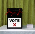 Decision making ballot box colour