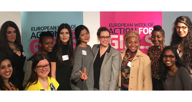 Girls Can Inspire, Succeed & Thrive: the EWL at the European Week of Action for Girls