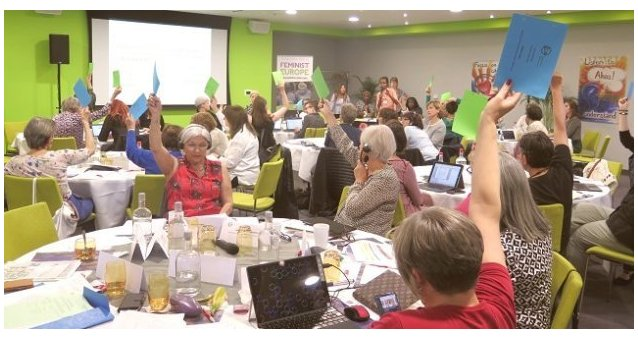 Five emergency motions adopted by EWL's General Assembly in 2019