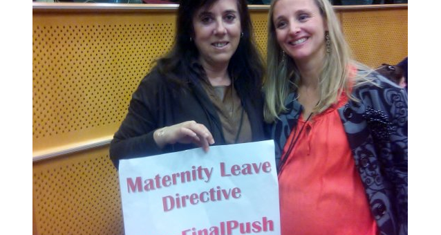 Keep pushing! - The European Parliament adopted the resolution on the maternity leave directive