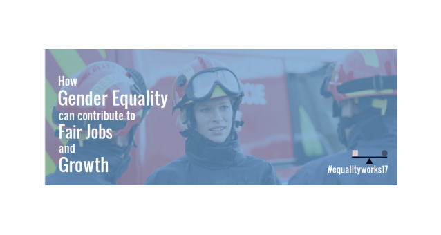 How can gender equality be a key to fair jobs?