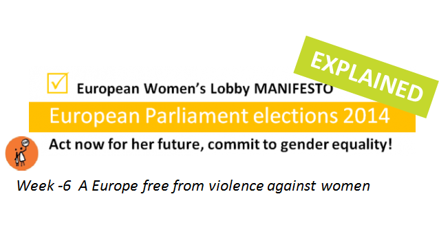 Week -6: A Europe free from violence against women
