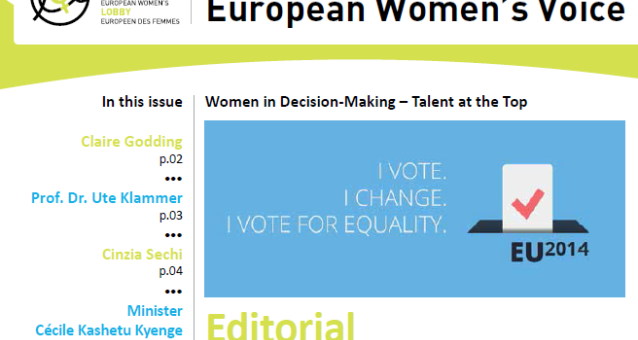 European Women's Voice 'Women in Decision-Making, Talent at the Top'