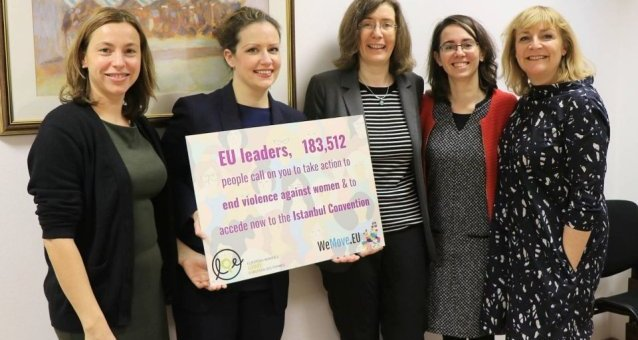 EWL welcomes European Parliament resolution calling the EU to access the Istanbul Convention
