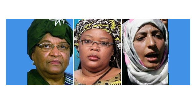 EWL delighted at award of Nobel Peace Prize to 3 women's rights and peace activists