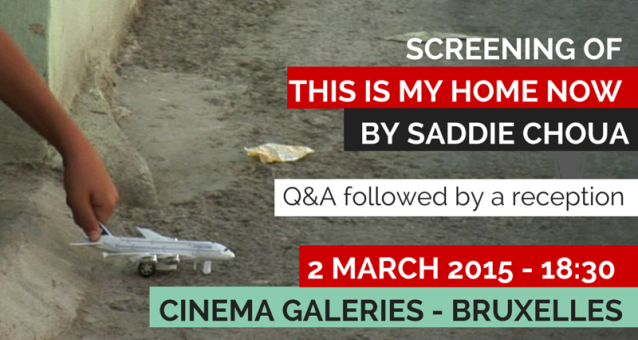 International Women's Day in Brussels - Screening of This is My Home Now // 2 March 2015 - 18h30