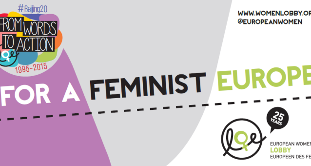 EWL Beijing+20 in May - A fair & equal representation of women in the media in Europe