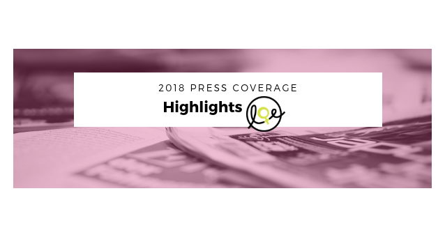 Press coverage highlights 2018