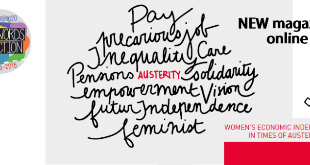 New magazine online! Women's Economic Independence in Times of Austerity - The need for a 'Pink Deal'