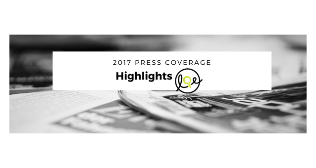 Press coverage highlights of 2017