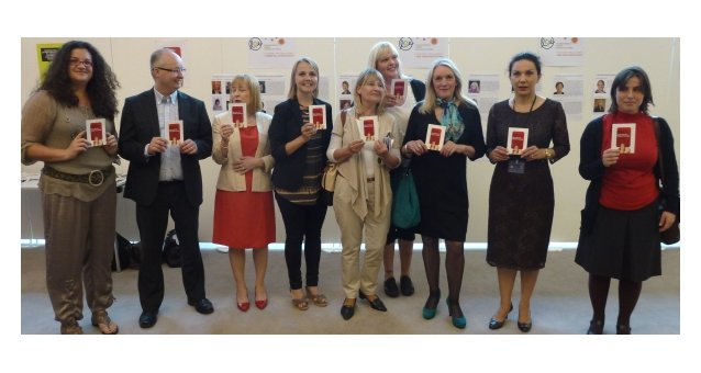 MEPs give prostitution at sporting events the red card in support of EWL campaign