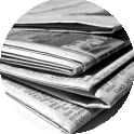 Press coverage newspapers icon