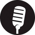 Press release microphone icon