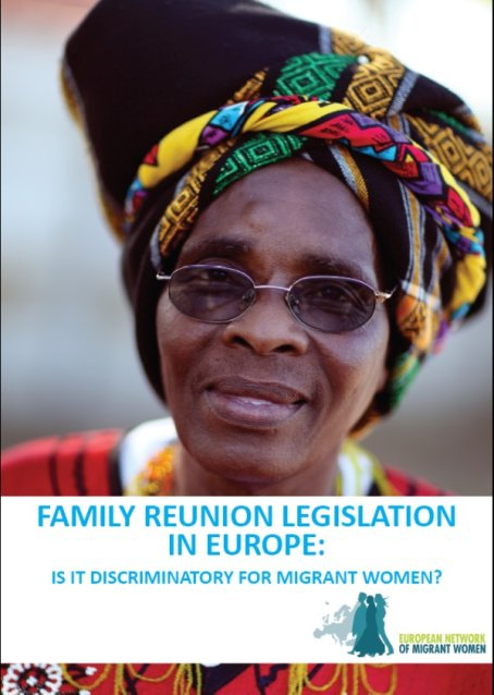 family reunion legislation in europe nov 2011